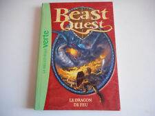 BIBLIOTHEQUE VERTE - BEAST QUEST / LE DRAGON DE FEU N°1