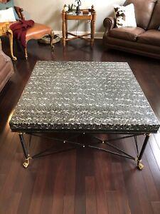Vintage Maitland Smith coffee table