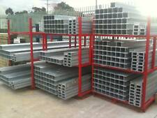 GALVANISED C CHANNEL FOR TREATED PINE RETAINING WALL