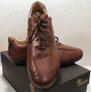 Allen Edmonds Peyton Saddle Brown Casual Shoe 8.5 D New In Box