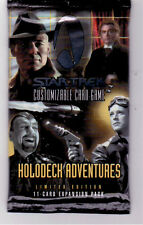 Star Trek CCG Sealed Packets of Holodeck 1st Edition Series 11 Cards Per Pack