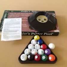 GOLFER'S PUTTER POOL~ a Golfing Game with Pool Balls by Club Champ FAMILY GAME