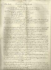 Gallarate Sentenza sulla Causa del Barone Valerio Tabassi 1885