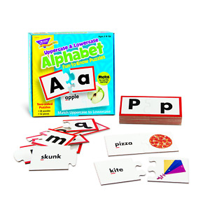 Trend Enterprises Fun-to-Know® Puzzles: Uppercase & Lowercase Alphabet T36010