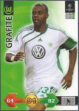 PANINI UEFA CHAMPIONS LEAGUE 2009-10 TRADING CARD-VFL WOLFSBURG-GRAFITE