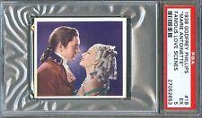 1939 Famous Love Scenes Card #18 Marie Antoinette NORMA SHEARER T. Power PSA 5