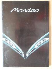 FORD MONDEO RANGE 1996 Spanish Mkt sales brochure - CLX GLX Ghia Sport 16V 24V