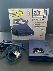 TESTED Iomega ZipPlus 100 External Zip Drive (SCSI/Parallel, PC/Mac)