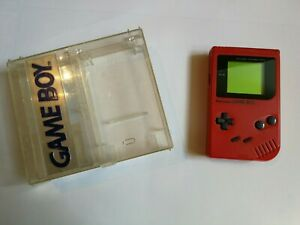 Nintendo Game Boy DMG - Rot Play it Loud / Special Edition Konsole inkl. Box TOP