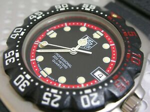 TAG HEUER F1 formula 1 classic, 200m, middle diver, BK SS CASE new battery