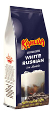 Kahlua white RUSSIAN Gourmet Ground Coffee 1 Bag 10 Oz