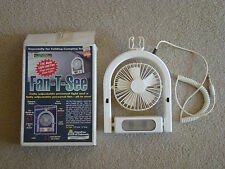 Interior Light and Fan Combination Pop Up Camper Tent Trailer w/Extension Cords