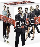 Chuck Stagioni 1 A 5 Collezione Completa DVD Nuovo DVD (1000336256)