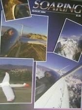 Soaring Magazine August 2004-Bowlus Replica/Organic Variometer/15 Meter National
