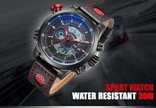Reloj de Pulsera Weide WH3401 Hombre Militar Digital Análogo A prueba de agua/choques Cuarzo Reino Unido