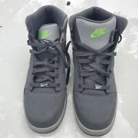 EUC Nike Prestige IV High Grey/ Green 584614 030 Size 12