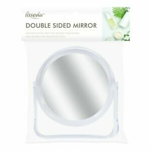 Double Sided Mirror Cosmetic Small Magnify Travel Make Up Shaving