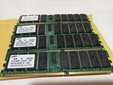 Lot of  2 X 370-4940-01 Oracle//Sun  1GB DDR CL2 EEC REG PC2100  Samsung
