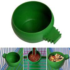 Suministros de pájaro Tyle Redondo De Agua Plástico Alimentadores Tazón de fuente de alimentación loro Ave