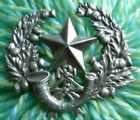 Cameronians Scottish Rifles Cap Badge WM 2 Lugs ANTIQUE Original