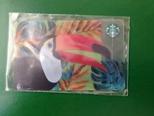 NEW! RUSSIA, STARBUCKS RUSSIAN CARD SUMMER 2018, TOUCAN,SEALED