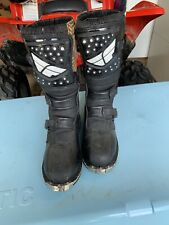 FLY RACING MAVERICK MOTOCROSS MX RIDING BOOTS SIZE YOUTH 1