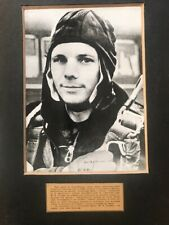 Photo of the first cosmonaut Yuri Gagarin with a gift inscription. 1961.