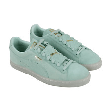 Puma Suede Classic  Epic Remix Sneakers - Green - Mens Coated against water&dust
