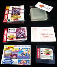 NOMO'S WORLD SERIES BASEBALL Sega GAME GEAR Japones Completo y en Buen Estado