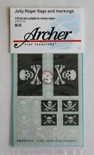 Archer 1/35 (and other Scales) Jolly Roger Flags & Pirate Flag Insignias AR35144