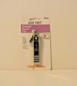 Just Feet Swivel Toenail Clip  Sally Hansen 58143 Lot of 50 clippers