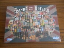Gibsons 1000 piece jigsaw puzzle ' The Brands Of Britain ' * NEW & SEALED *