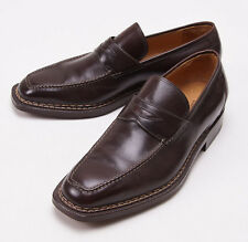 NIB $1295 SUTOR MANTELLASSI Norwegian Welt Loafers Shoes US 9.5 D Norvegese