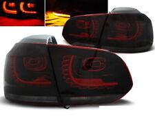 Coppia di Fari Posteriori per VW GOLF 6 VI 2008-2012 Rosso Fumè LED IT LDVW71-ED