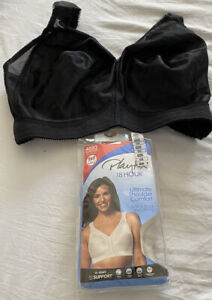 4693 PLAYTEX 18 HOUR SHOULDER COMFORT SIDE AND BACK SMOOTHING WIRE FREE BRA