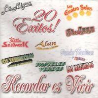 Various Artists - Recordar Es Vivir: 20 Exitos [New CD]