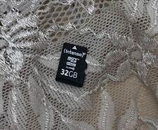 Intenso 32 GB Micro SDHC Speicherkarte Karte SD Card *von Privat gebraucht*