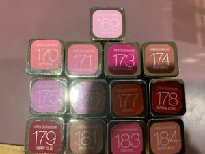 L'Oreal Colour Riche Lipstick-CHOOSE The SHADE You Love! New! Hard to Find