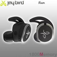GENUINE Jaybird Run Sport Bluetooth Wireless Buds Headset Earphone Jet Black