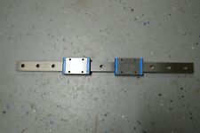 """IKO LWLF18B 13"""" Linear Rail, With 2 Slide, 18mm wide. Linear bearing guide LM"""