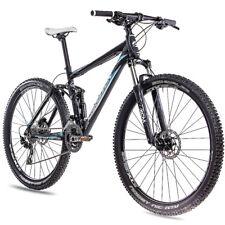 "29"" pulgadas ALUMINIO MTB mountainbike fully chrisson bateadores FSF con 30g Deore negro"