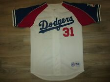 Mike Piazza #31 LA Dodgers MLB Majestic Baseball Jersey M Medium mens