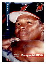 1997 High Desert Mavericks Grandstand #16 Dwayne Murphy Danville California Card
