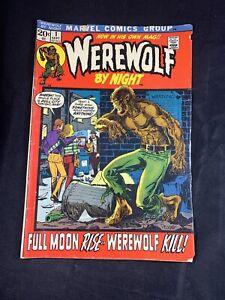 Werewolf By Night Number 1 Marvel Comics September 1972