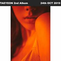 TAEYEON Purpose 2nd Album Random Ver CD+Photobook+Etc+Tracking Number SNSD
