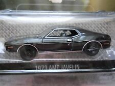 GREENLIGHT - BLACK BANDIT  - 1973 AMC JAVELIN - 1/64 DIECAST