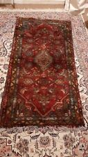 HAND KNOTTED SMALL RUNNER RUG