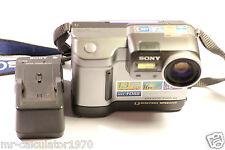 Sony Mavica MVC FD88 1.3MP Cámara Digital-Gris Metalizado