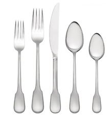 Vera Wang Surrey 20 Piece Stainless Steel Flatware Utensil Set Service for 4