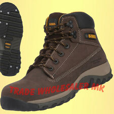 DeWalt Hammer Safety Boots Brown Composite Safety Work Boots UK Sizes 6-12